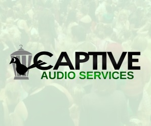 Captive Audio Services website by Megawatts