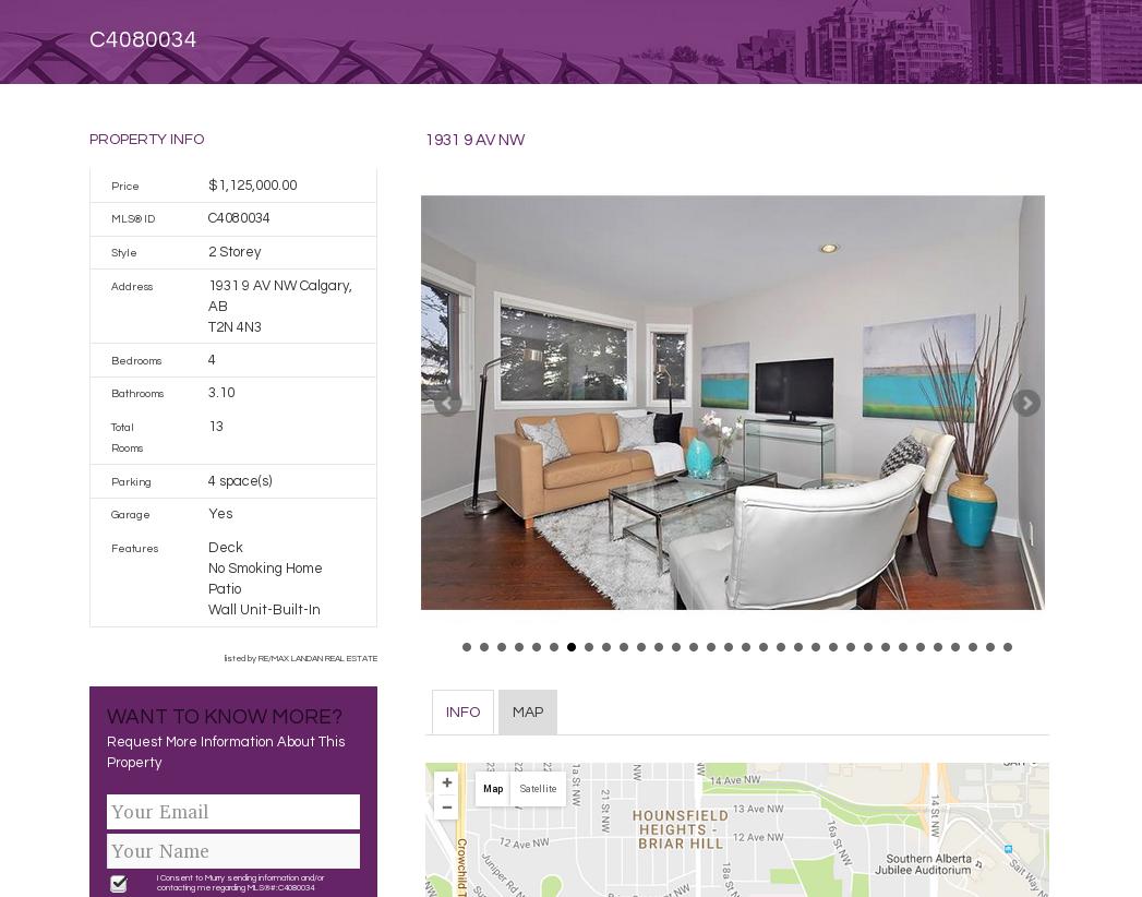 MLS Listings screenshot - full property view